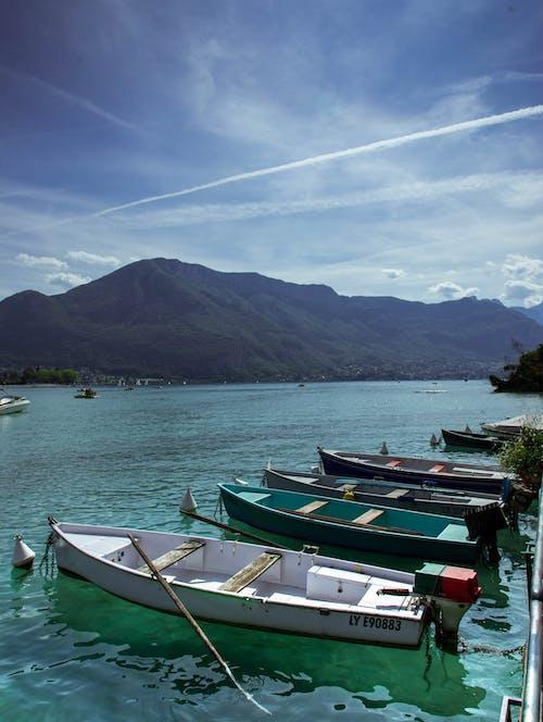 Foto d'estoc gratuïta de a l'aire lliure, annecy, barques, Europa