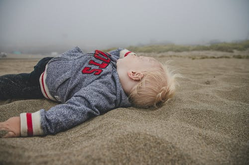 Free stock photo of baby boy, baby in sand, baby on the beach, beach