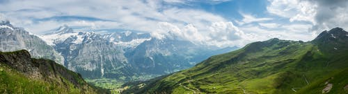 Free stock photo of europe, grindelwald, hills, landscape