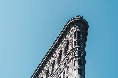 คลังภาพถ่ายฟรี ของ nyc, ตึกแฟลตไอออน, ท้องฟ้า, นิวยอร์ก