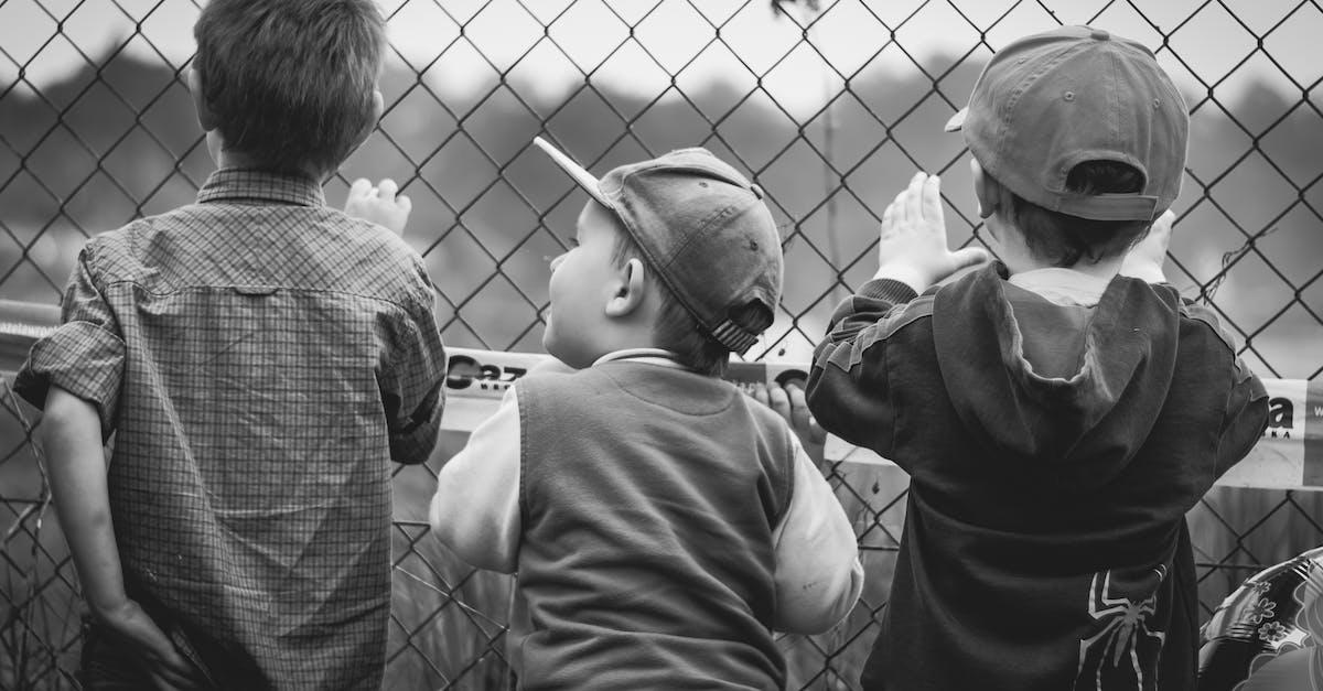 Free stock photo of black-and-white, boys, children