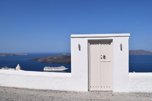 Photos gratuites de architecture, bord de mer, ciel bleu, côte