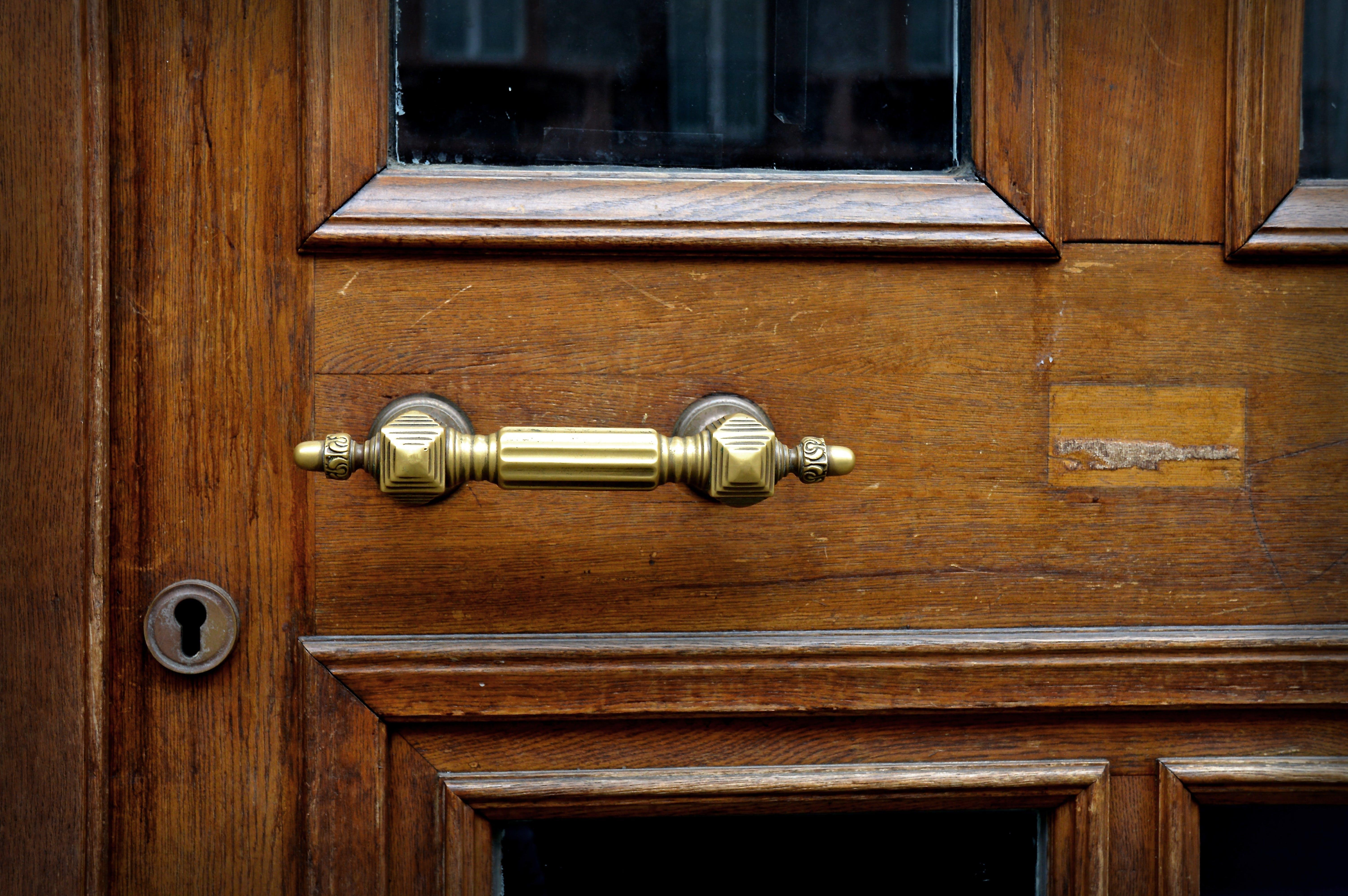 Free stock photo of metal, door, castle, old