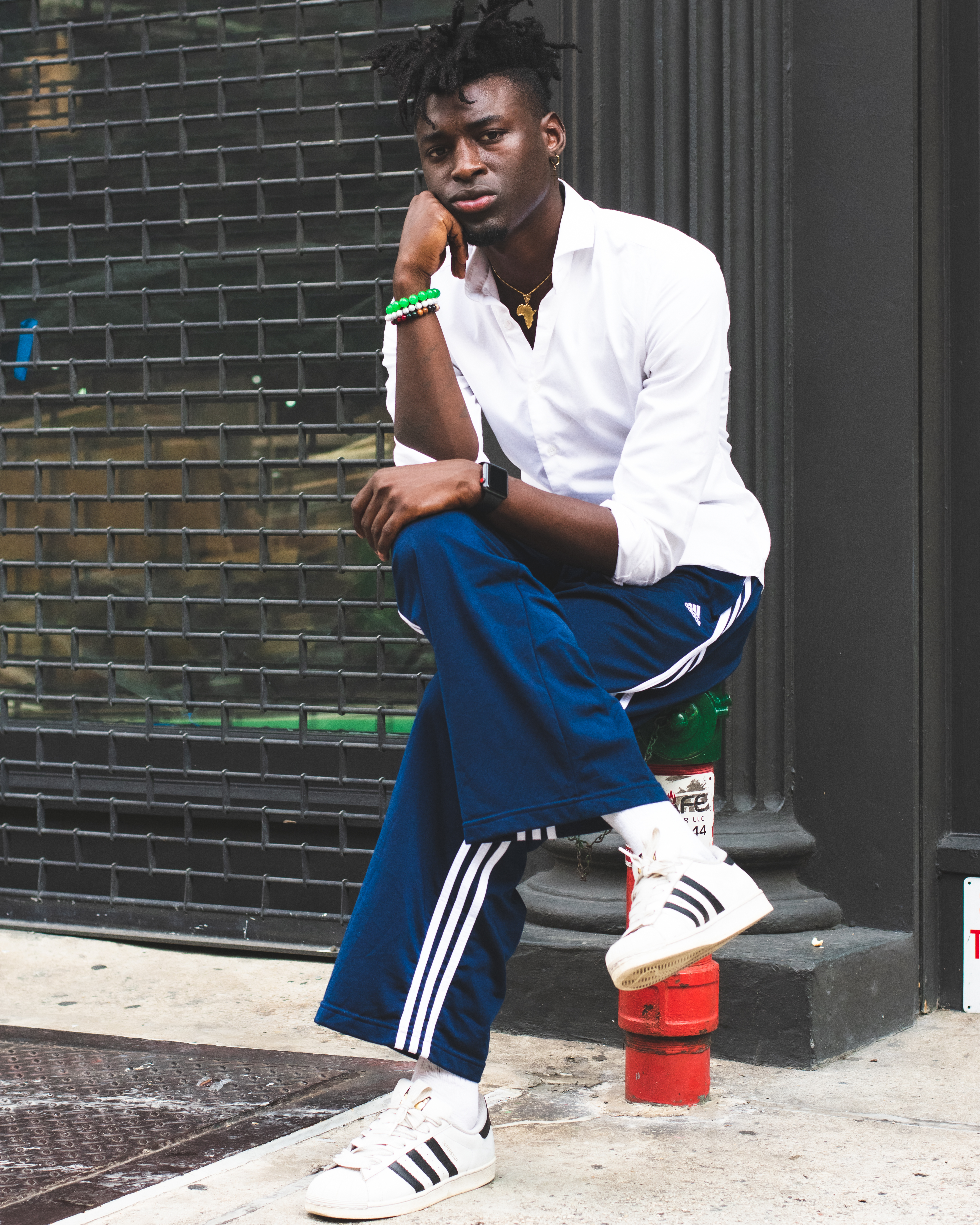 Person Wearing Adidas Superstar · Free Stock Photo