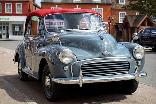 Immagine gratuita di auto classica, britannico, british motor corporation, convertibile