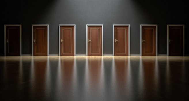 Free stock photo of decision, doors, doorway, choices