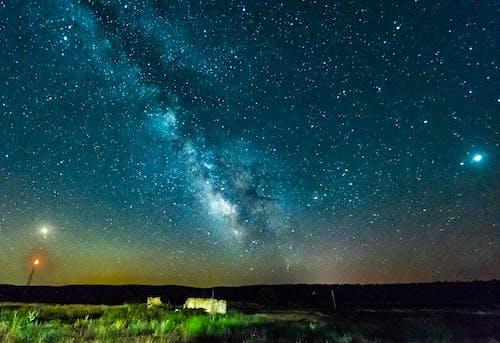 Free stock photo of core, milky way, night, stars