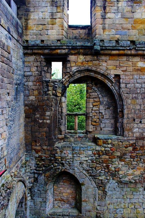 Foto profissional grátis de castelo, dunfermline, escócia histórica, janelas