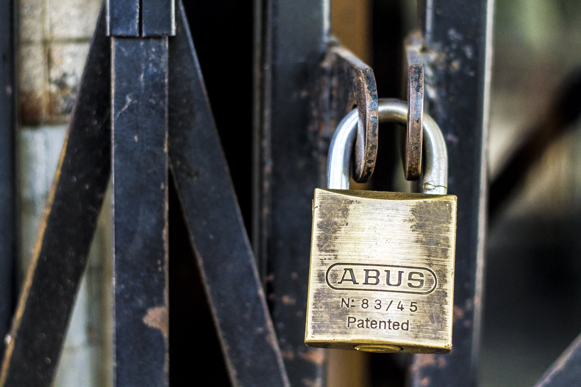 abus brand close up closed