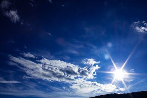 Immagine gratuita di atmosfera estiva, azzurro cielo, cieli blu, cielo azzurro