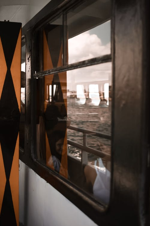 Gratis lagerfoto af gardiner, glas, glasting, himmel