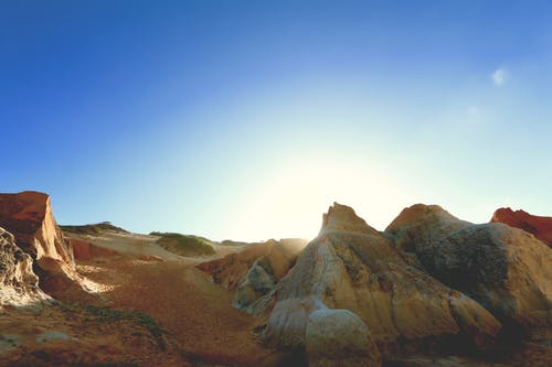 Immagine gratuita di abbandonato, azzurro, cielo, cielo azzurro