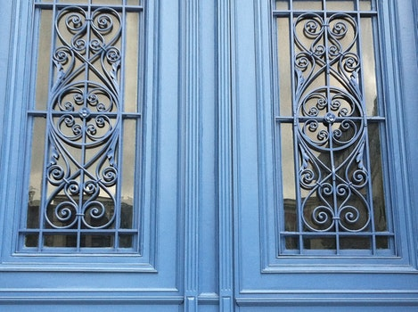 Free stock photo of glass, architecture, door, design