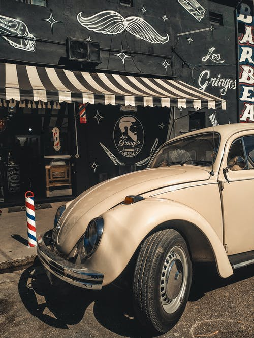 Photo of Parked Volkswagen Beetle