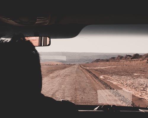 Ilmainen kuvapankkikuva tunnisteilla aamu, aamunkoitto, aavikko, ajaa