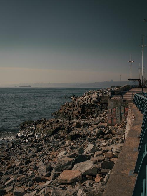 Gratis arkivbilde med himmel, kystlinje, nedtrykt, reisefotografering