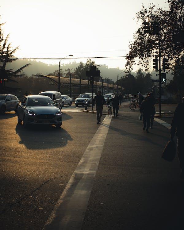 Вулиця, Вулична фотографія, гарний захід сонця