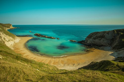 Photos gratuites de bord de mer, cailloux, campagne, ciel