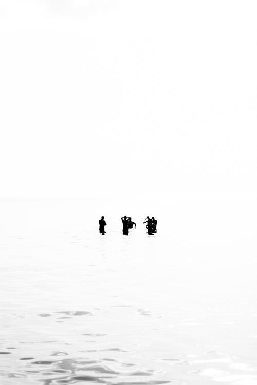 Free stock photo of 5, Baltic Sea, black and white, blownout