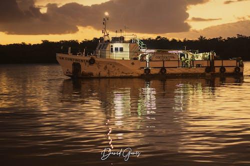 Free stock photo of aqua, boat, calm, catch