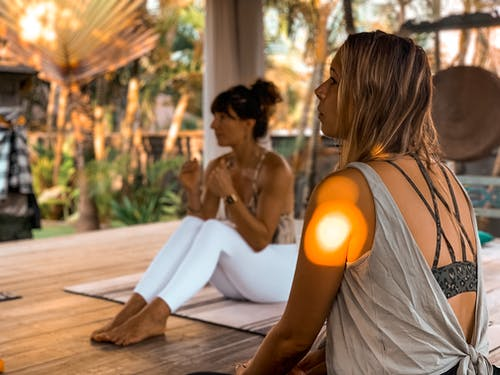 Free stock photo of bali, beautiful woman, light, yoga