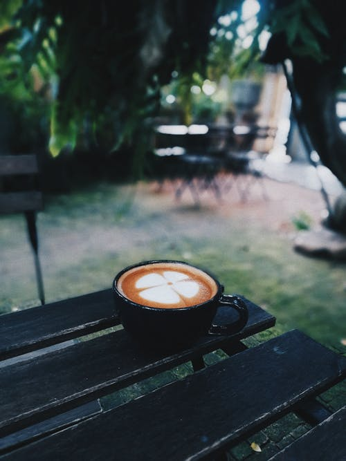 라떼, 라떼 아트, 보케, 술을 마시다의 무료 스톡 사진