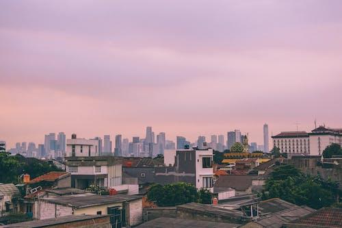 Gratis arkivbilde med aftenrøde, arkitektur, by, bybilde