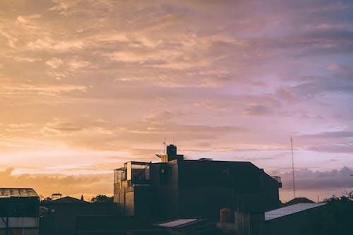 Foto profissional grátis de céu, céu rosa, cidade, Indonésia