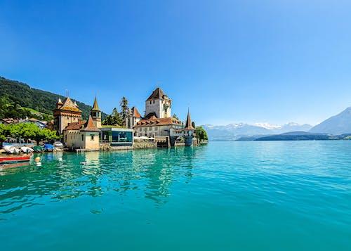 Imagine de stoc gratuită din albastru, apă, arhitectură, călătorie