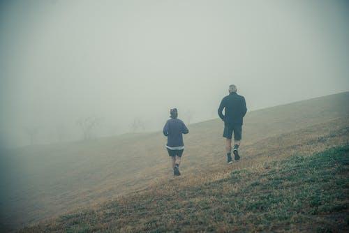 人们跑步, 堪培拉, 有雾的早晨, 有霧 的 免费素材照片