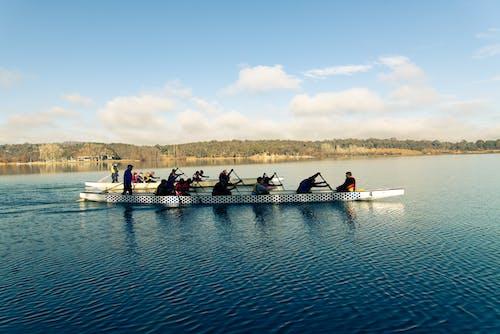 Foto d'estoc gratuïta de barca, canberra, esport, estil de vida saludable