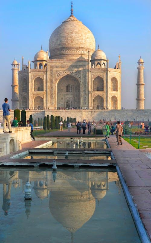 Ingyenes stockfotó agra, India, kora reggel, Taj Mahal témában