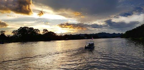Ingyenes stockfotó Kanchanaburi, kawi folyó, naplemente, Thaiföld témában