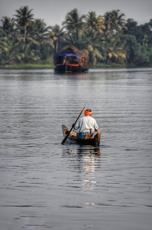 Photos gratuites de adulte, bateau, bois, canoë