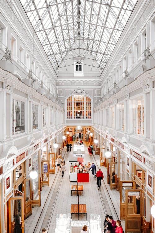 Ilmainen kuvapankkikuva tunnisteilla arkkitehtuuri, aula, business, geometrinen
