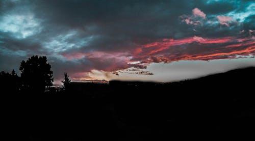 Kostenloses Stock Foto zu blauer himmel, himmel, landschaft, landschaftsfotografie