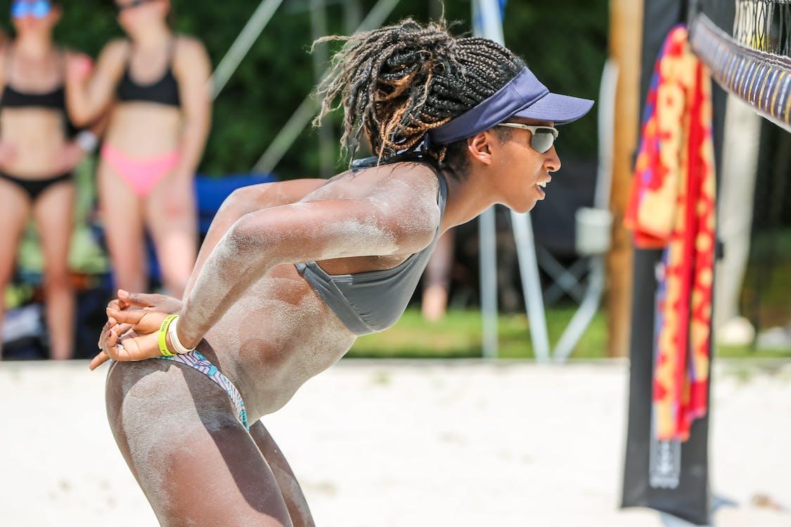 Αθλητισμός, άμμος, αναπαριστώ