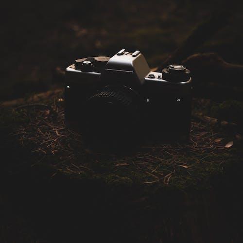Foto profissional grátis de aiguilles, brocas, câmera antiga, cepo de madeira