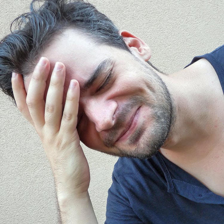Free stock photo of headache, image, man