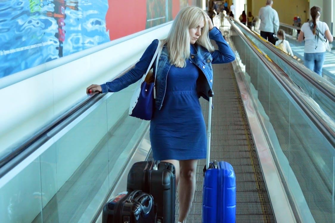 ångest, äventyr, bagage