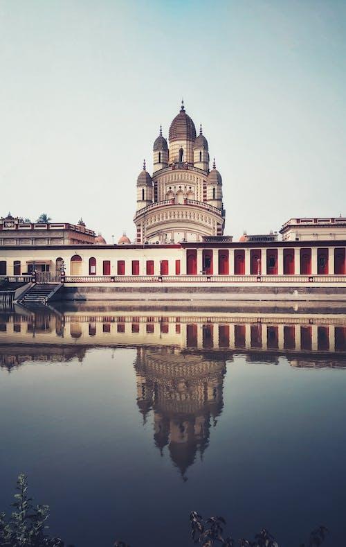 Ảnh lưu trữ miễn phí về đền dakshineswar kali, kiến trúc, phản ánh, Tòa nhà