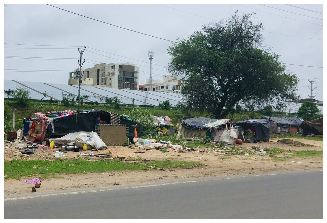 Houses Near Concrete Road