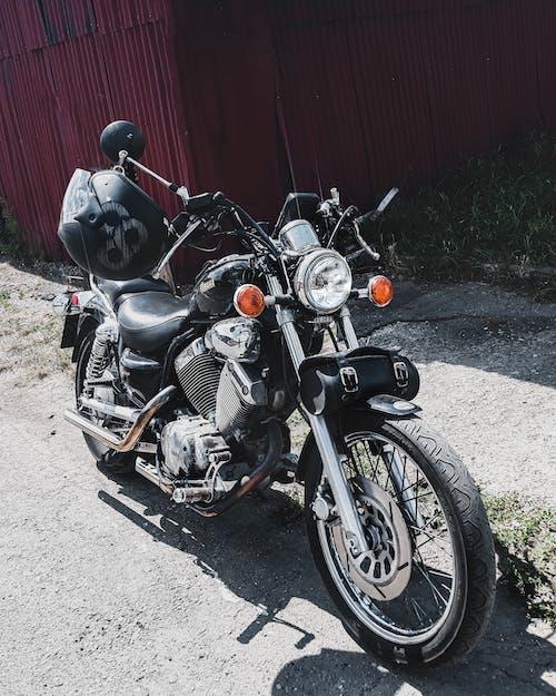 Foto stok gratis helm motor, sepeda, sepeda motor