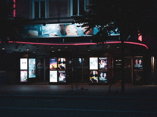 Free stock photo of blue, blue and red, cold, neon light