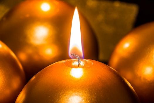 Free stock photo of light, christmas, advent, candlelight