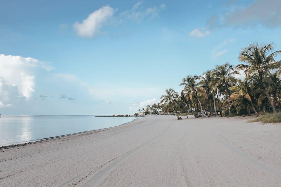 cielo azzurro, fotografia della natura, isola