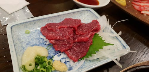 Free stock photo of japan, japanese food, raw meat