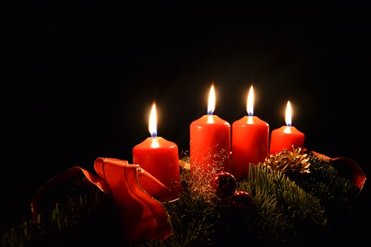 Free stock photo of christmas, advent, candles, christmas time
