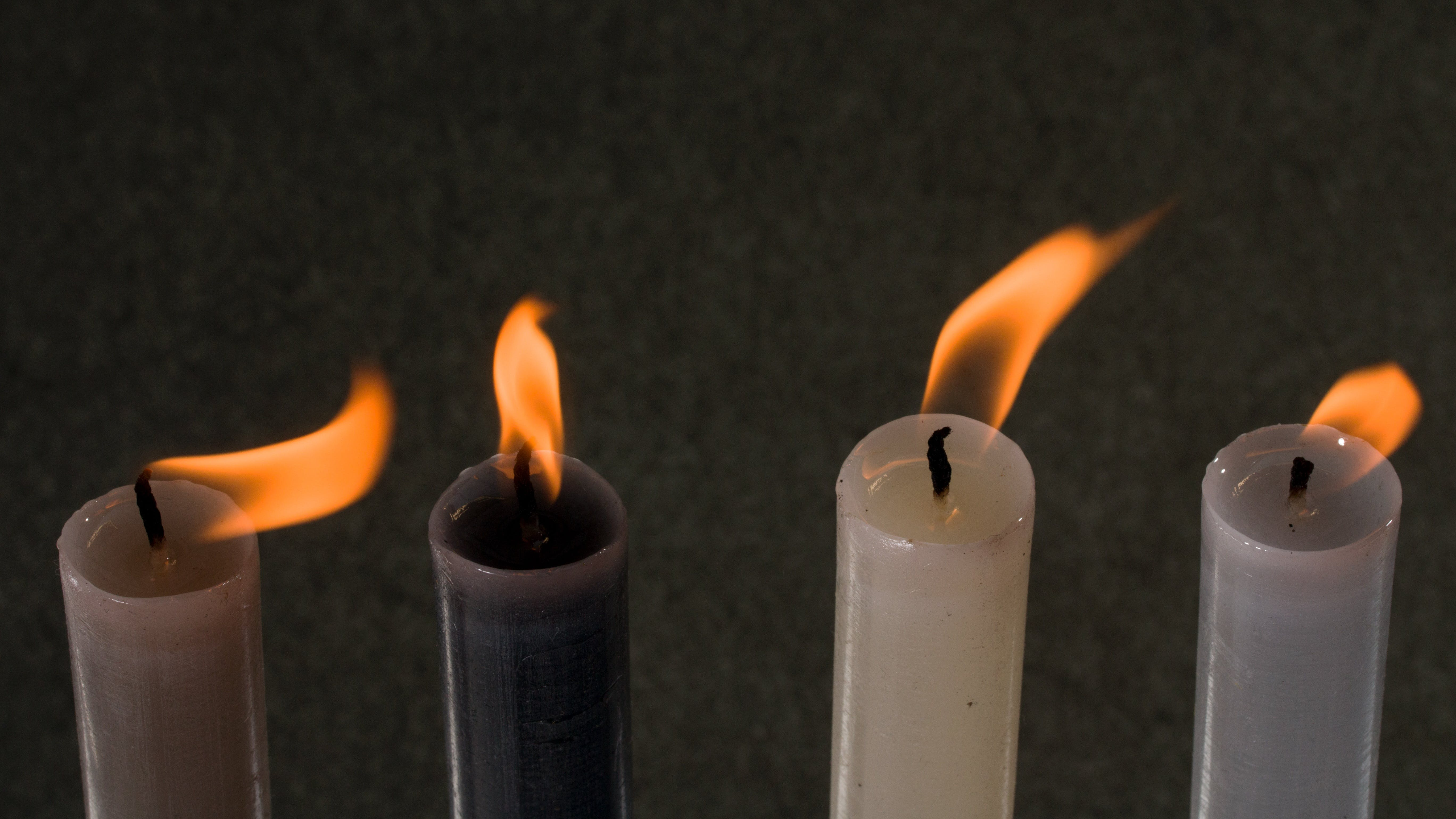 Free stock photo of candlelight, candles, flame, kindle