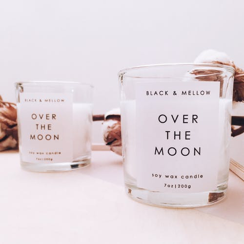 Black & Mellow Soy Wax Candle